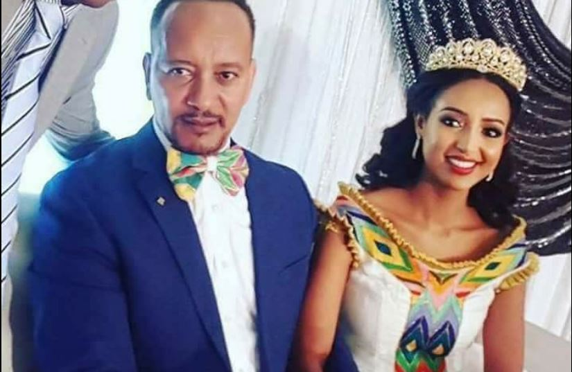 Meseret Mebrate gets married to Zewdu Shibabaw