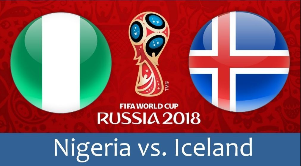 60d28aab5d7 2018 World Cup  Iceland facing Nigeria