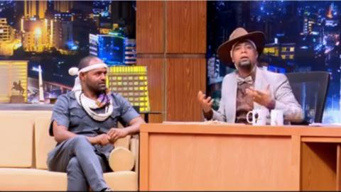 Seifu On EBS - Interview With Artist Micheal Belayneh