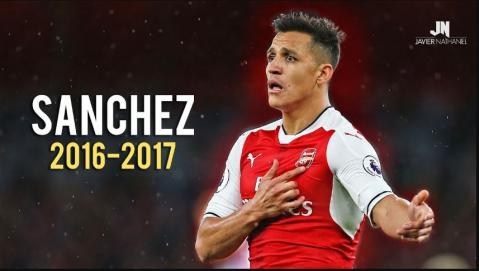 Alexis Sanchez - Amazing Skills and Goals of 2016/17