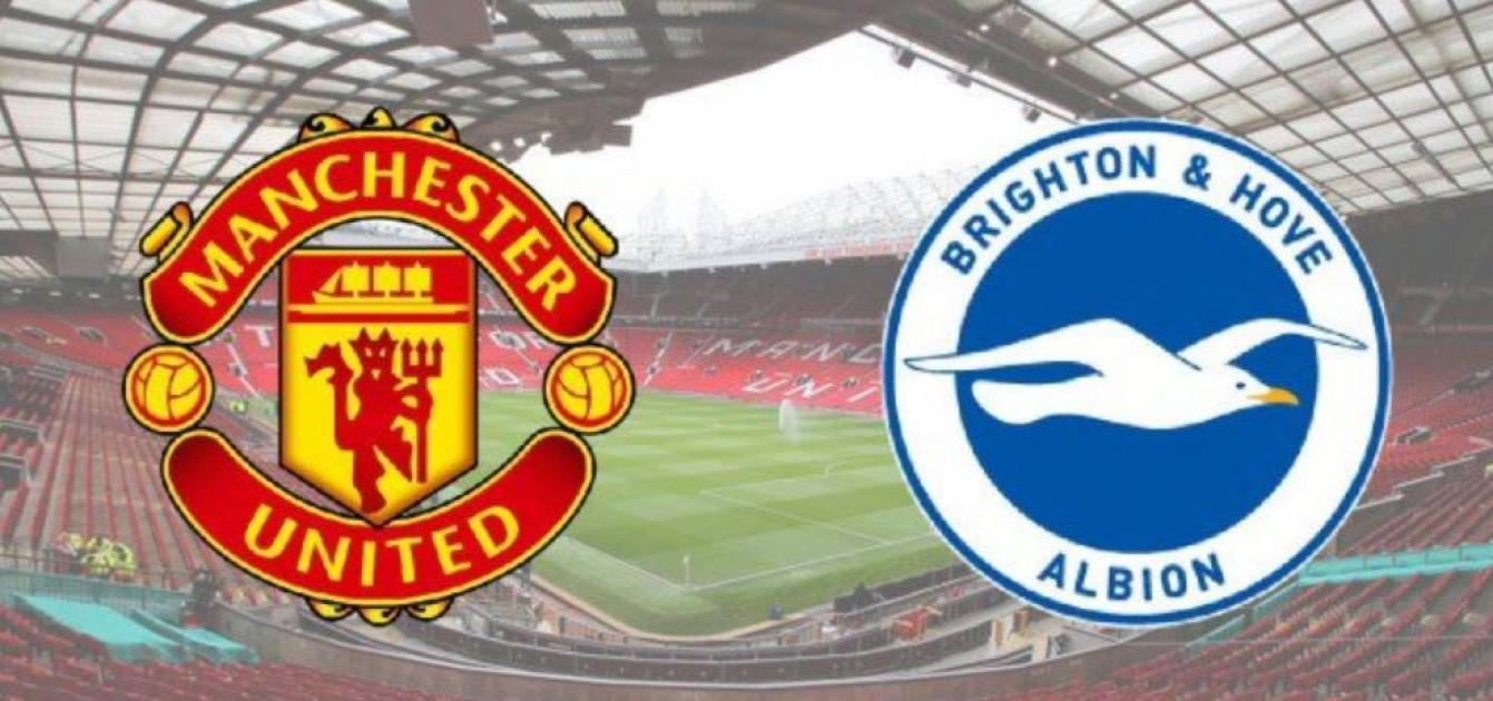 Who will win the Manchester United vs Brighton match?