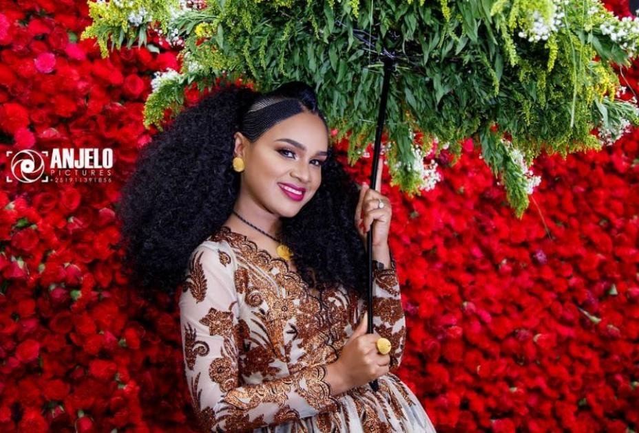 Ethiopian Movie Star Selam Tesfaye Enjoying Her Bridal Shower