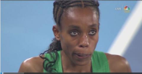Almaz Ayana wins Bronze in Women's 5000m | August 19, 2016