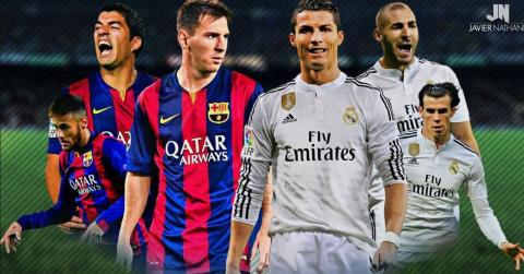 Barcelona vs Real Madrid 1-3