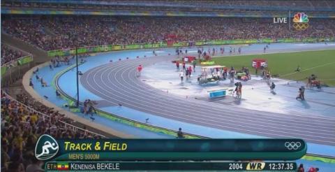 Hagos Gebrehiwot wins Silver in Men's 5000 Meter