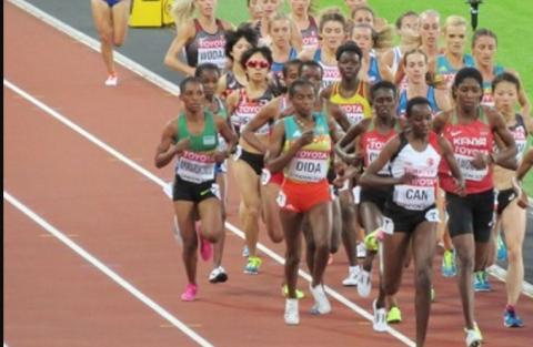 5000m women  - IAAF World Championships London