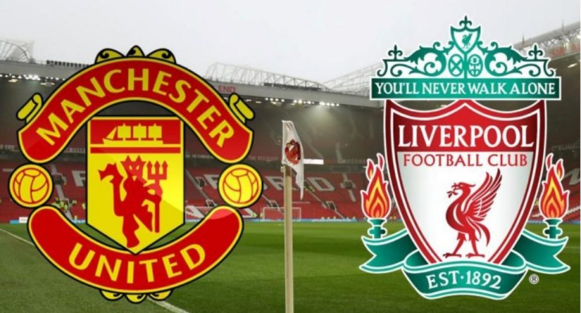 Manchester United take on Liverpool at Old Trafford