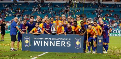 Barcelona vs Real Madrid 3-2 (International Champions Cup 2017)