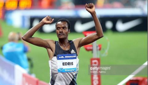 Muktar Edris won 3000 Meters Paris Diamond League, 2017
