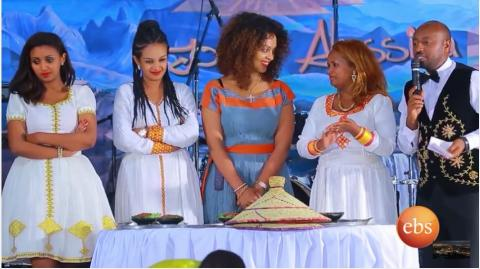 cooking computation between Ethiopian Artists
