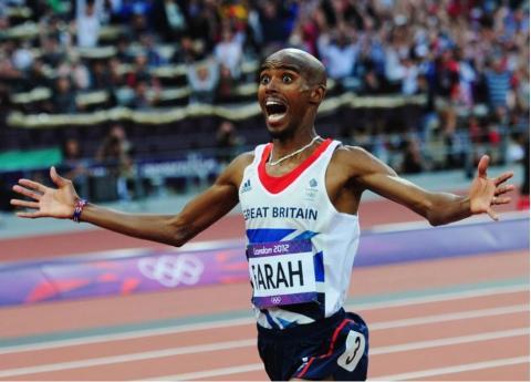 Mo Farah won his last 10,000 meter race - IAAF World Championship London 2017