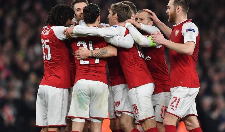Arsenal top AC Milan - Europa League
