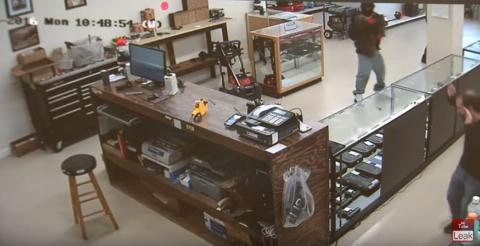 Two armed men in Atlanta tried to rob the wrong place - gun store!