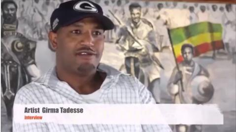 Interview with artist Girma Tadesse