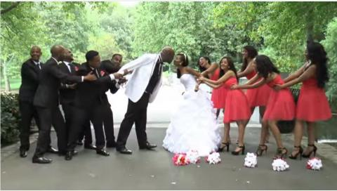 Yared and Seble's wedding