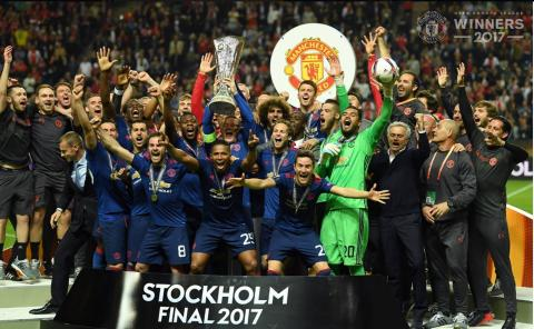 Manchester United won the UEFA Europa League