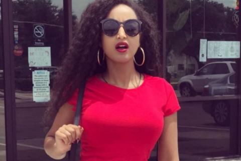 Ethiopian movie star Meseret Mebrate's picture collection