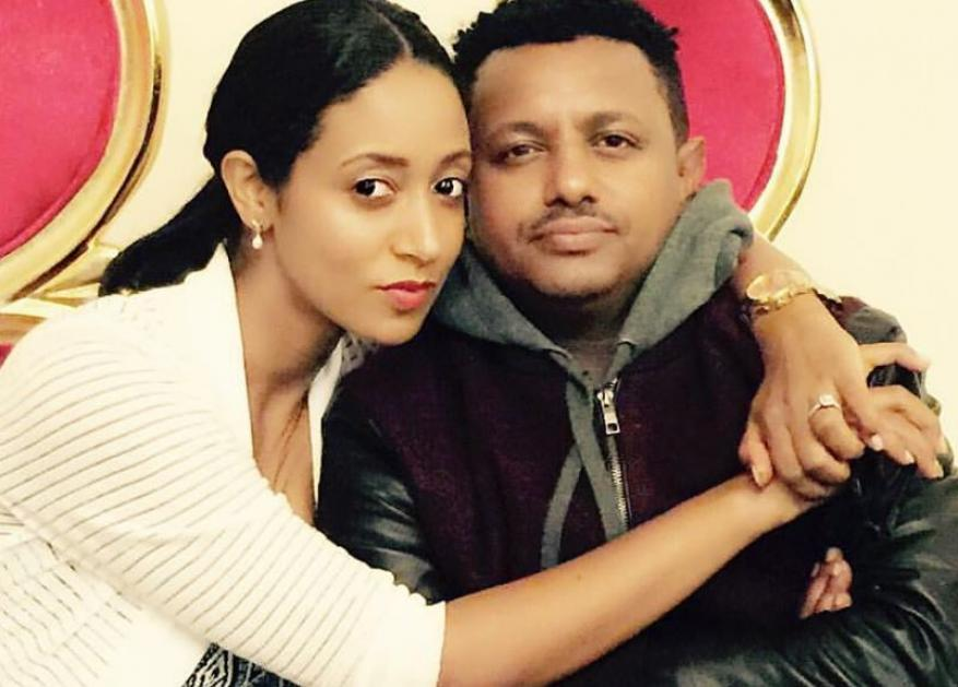 Beautiful couples, Teddy Afro and Amleset Muche's stunning photo