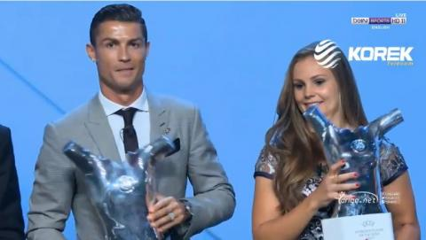 Cristiano Ronaldo UEFA Men's Player of the Year 2016/17