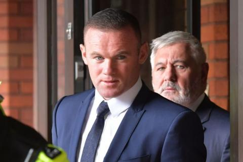 Wayne Rooney was in court on Monday facing drink driving charges