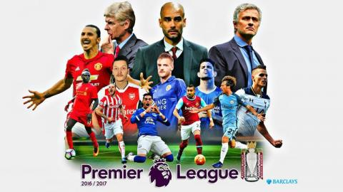 English premier league standings - week 7, 2017
