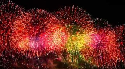 Dubai Fireworks - New Year's Eve Fireworks ( 2016/17)
