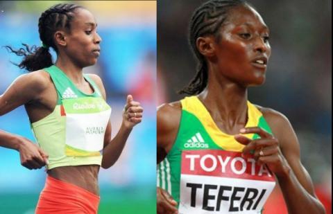 5000m women final - IAAF World Championships London