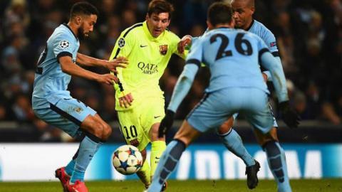 Lionel Messi's amazing plays