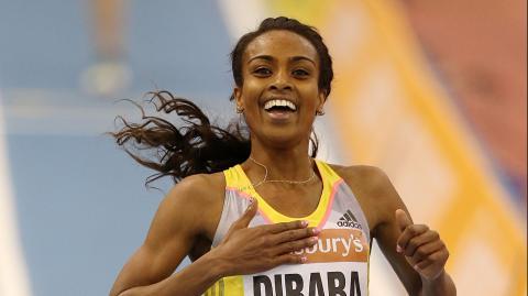 Ethiopian athletes won in Lausanne . Diamond League, 2017