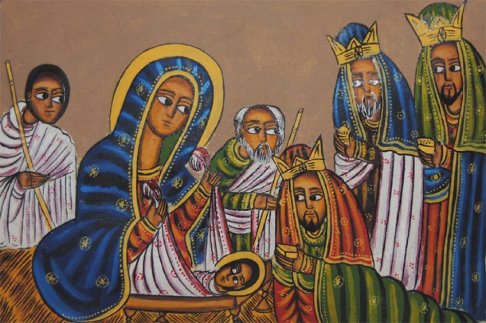 Firew Hailu - Asena Genaye (Ethiopian Christmas song)