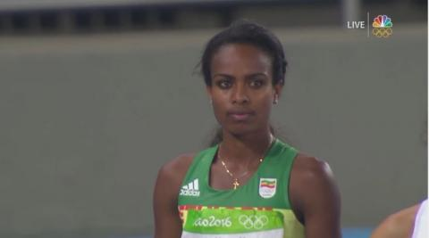 Genzebe Dibaba wins Silver in Women's 1500m | August 16, 2016
