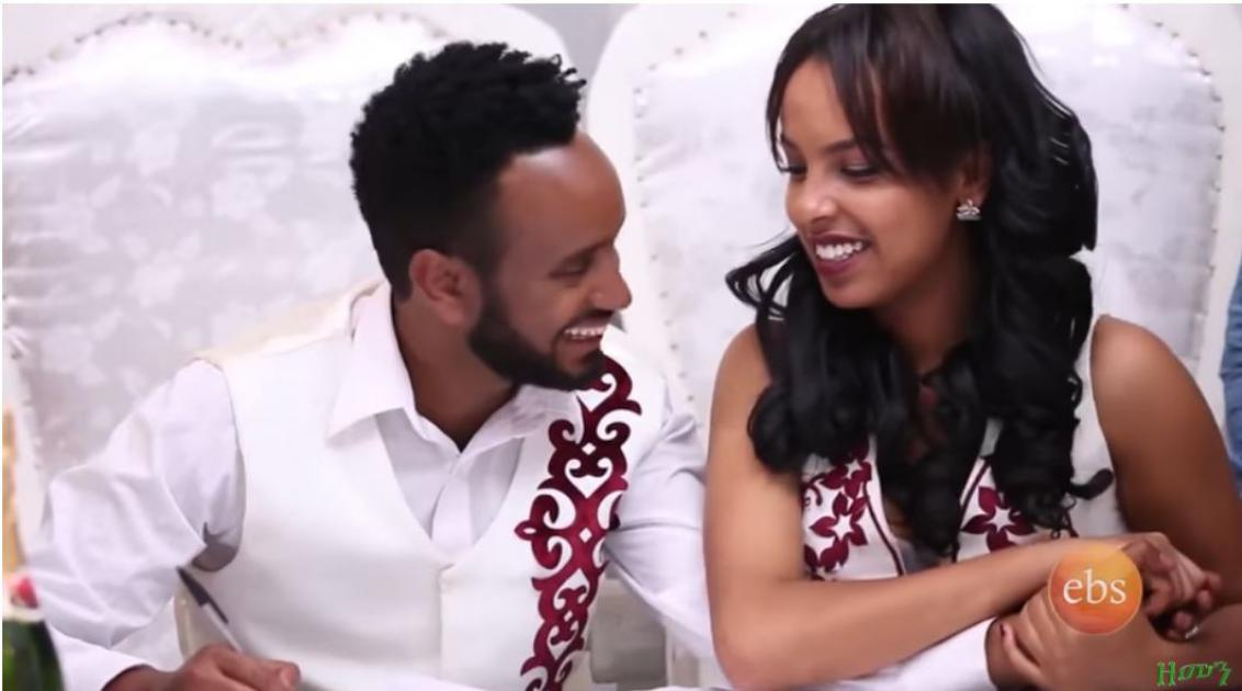 Hiwot and Nafkot Get Married - Scene From Zemen Drama Part 86