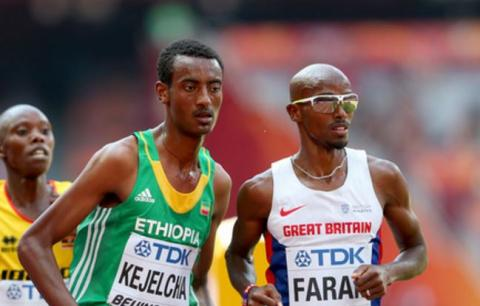 5000m men final - IAAF World Championships London