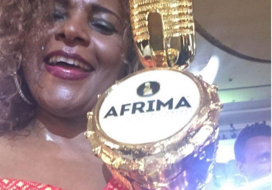 Hamelmal Abate - Winner of AFRIMA 2017 in the category of BEST African Traditional.