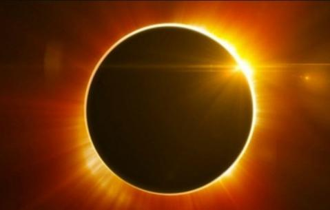 Total solar eclipse in United States
