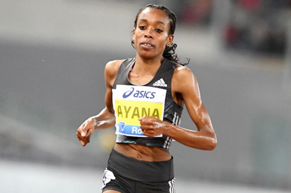 Almaz Ayana Won Delhi Marathon 2017