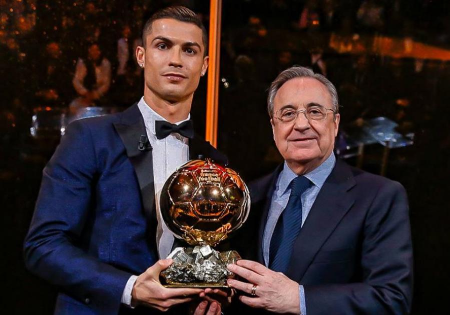 Cristiano Ronaldo Win Ballon D'Or 2017