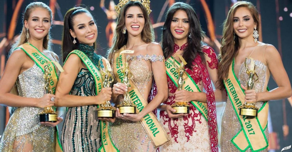 Maria Jose Lora from Peru, Winner Miss Grand International 2017