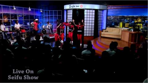 Micky Gonderegna performance on Seifu show