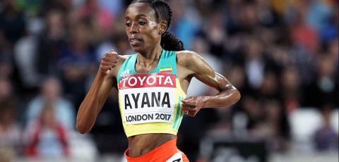 Ethiopians in IAAF World Championships London