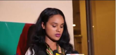 Selam Tesfaye's speach on girl's award, March 2017