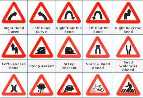 Road Signs and Traffic Symbols