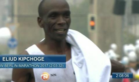 Kipchoge won Berlin Marathon, 2017