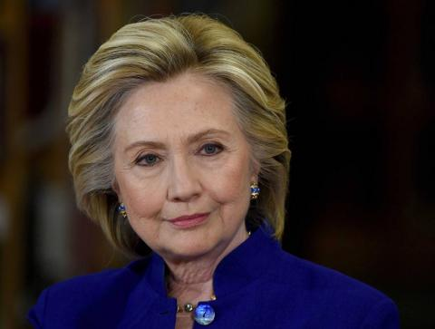 Hillary Clinton Speaks after conceding the presidential race to Donald J. Trump