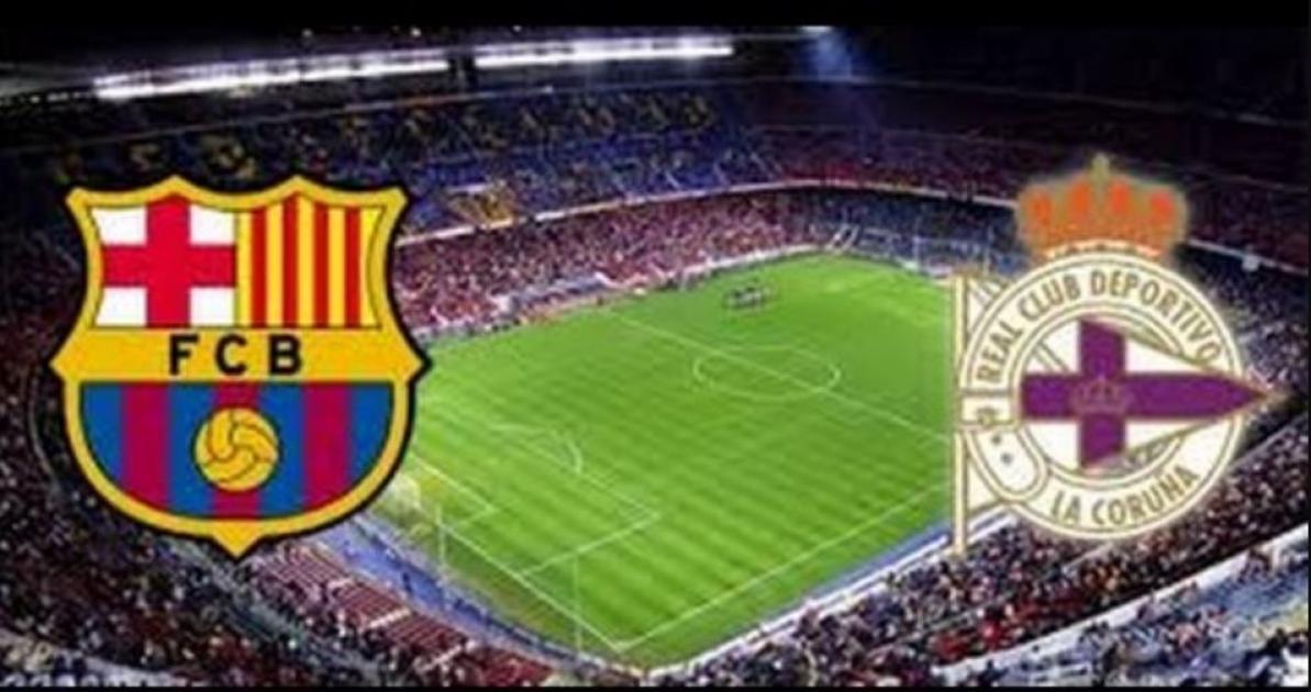 Barcelona fc vs Deportivo