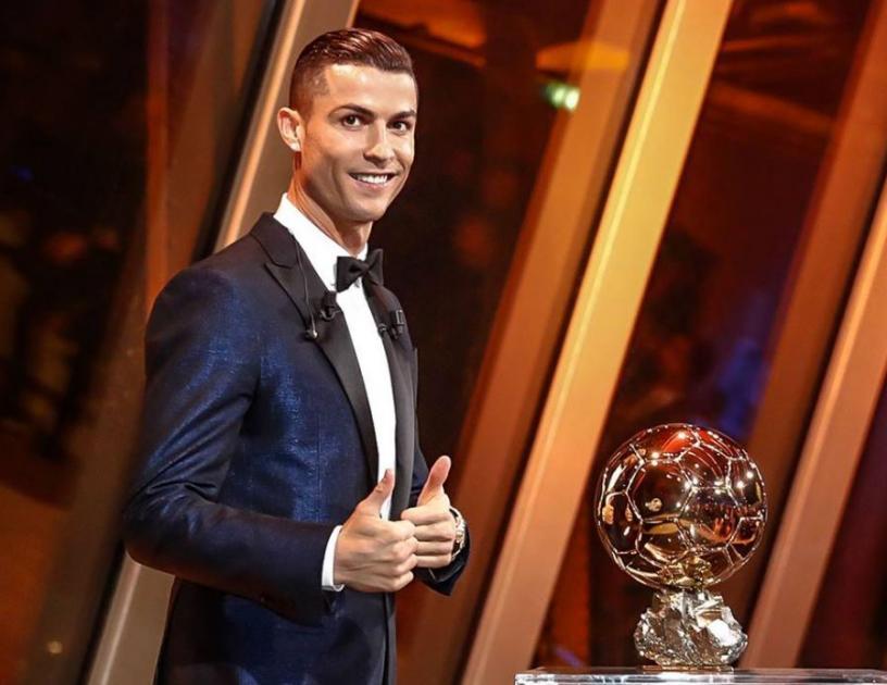 EBS Sport -Cristiano Ronaldo Win Ballon D'Or 2017