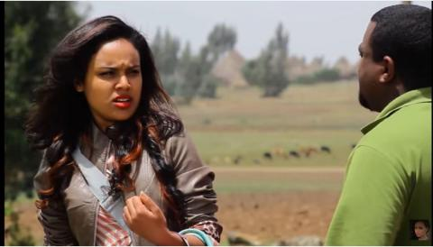 Selam Tesfaye's and Kasahun Fiseha's best moment from Tilefegn film