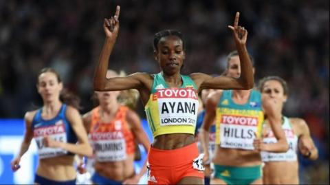 IAAF World Championships London - 5000m women