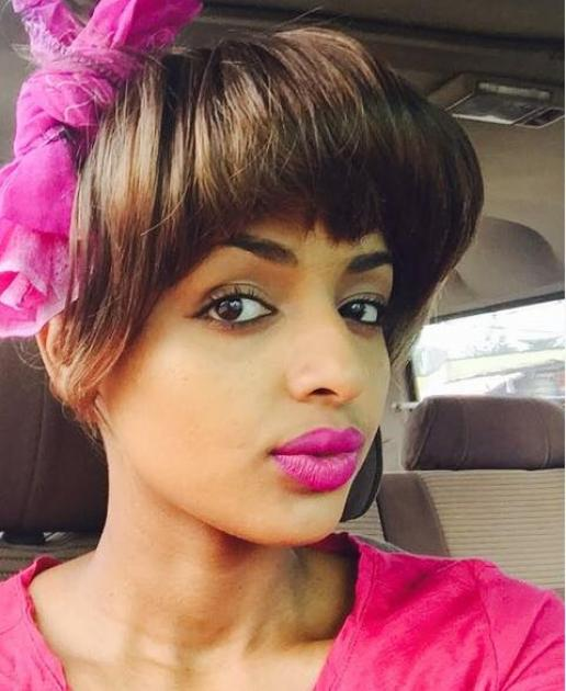 Ethiopian movie star  Addisalem Getaneh's photo collection