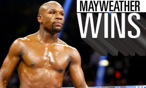Floyd Mayweather Jr. Beats Conor McGregor in 10th Round